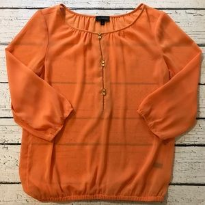 The Limited Orange Top Size Small
